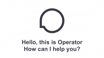 Operator How Can I Help